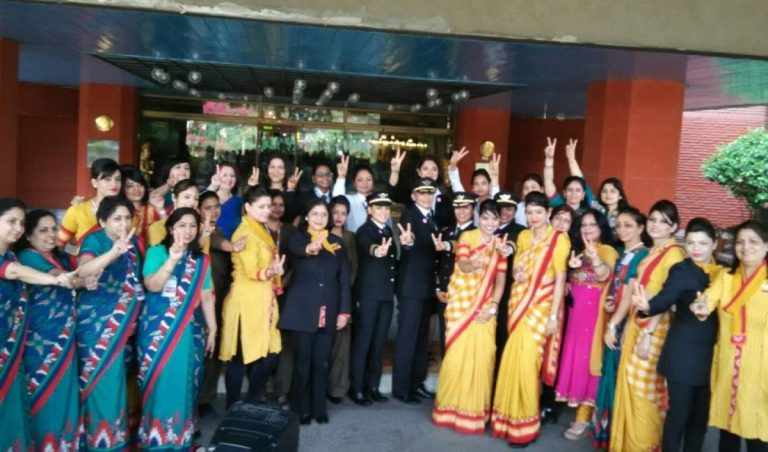 All-women team is all set to Take off