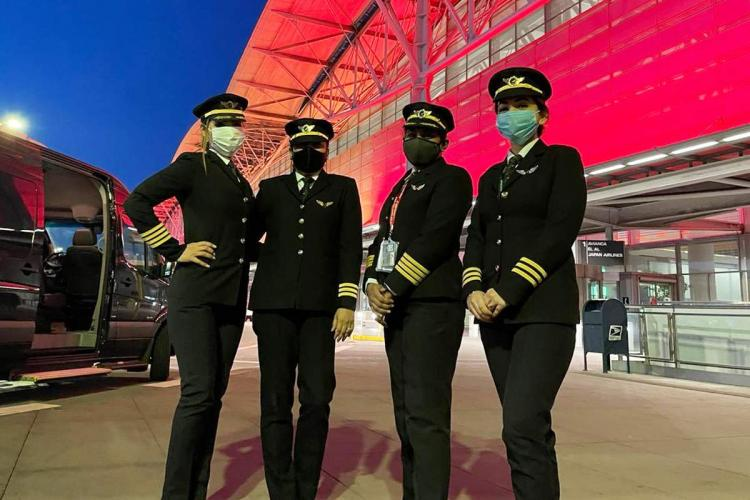 All-women pilot team makes history: Longest commercial flight in the world operated by Air India.