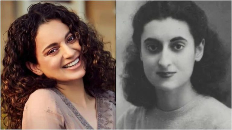 Kangana Ranaut to play Indira Gandhi in political drama