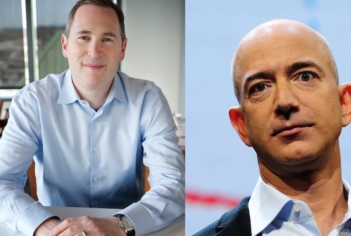 Jeff Bezos steps down and Andy Jazzy takes the role of Amazon's next CEO