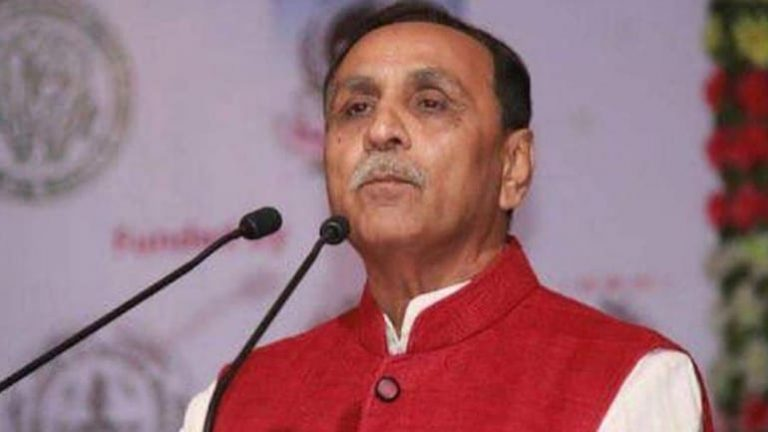 Gujarat CM Vijay Rupani tests positive for Covid-19 a day after collapsing mid speech