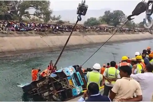 32 Feared dead in Sidhi Bus Accident