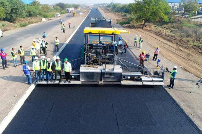NHAI constructs 25 Km Single Lane in 18 hours