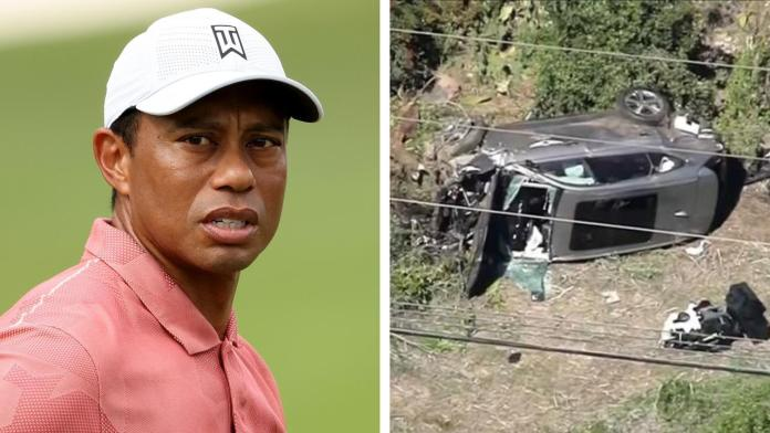 Tiger Woods injured in Major Car Crash, Undergoes Multiple surgeries