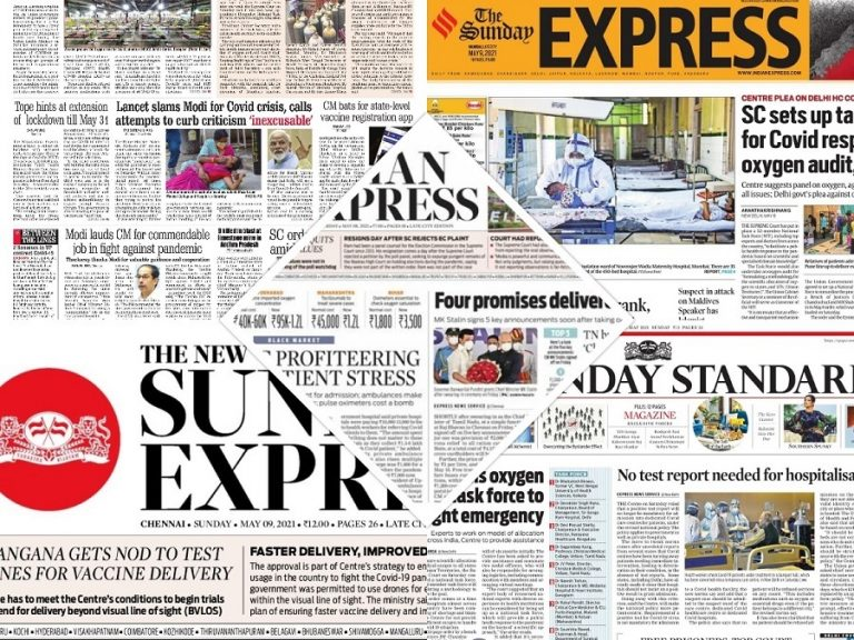 Today's Front Pages – May 9