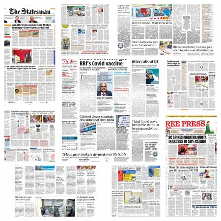 Today's Front Pages – May 6