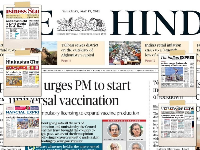 Today's Front Pages – May 14