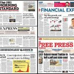 Newspaper front pages 17th May 2021