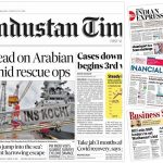 Newspaper front pages 20th May 2021