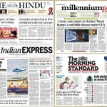 Newspaper front pages 21st May 2021