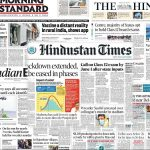 Newspaper front pages 24th May 2021