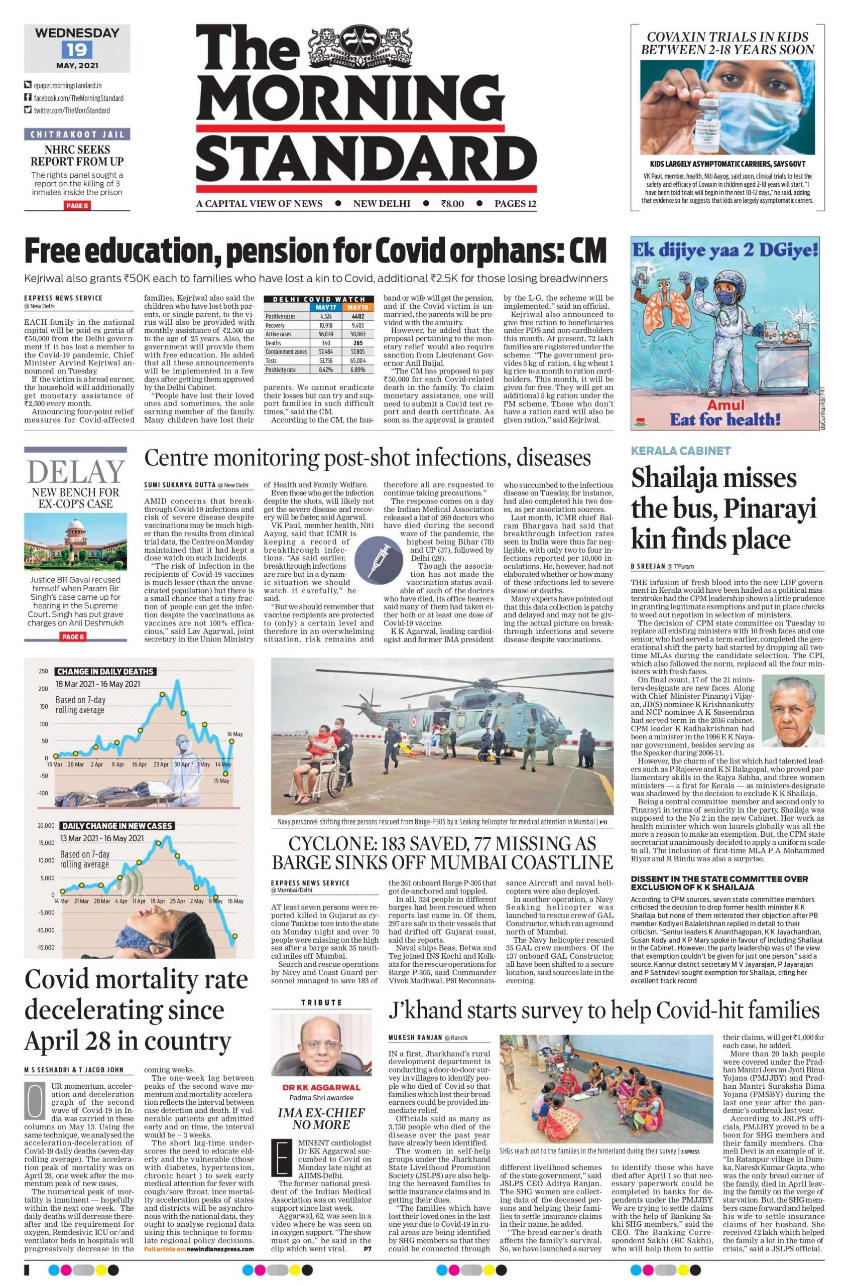 The Morning Standard 19th May 2021