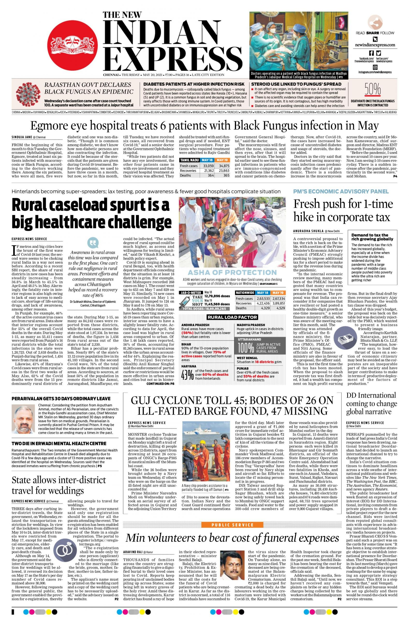 The New Indian Express 20th May 2021