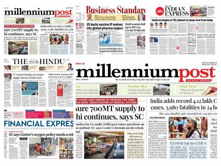 Today's Front Pages – May 7