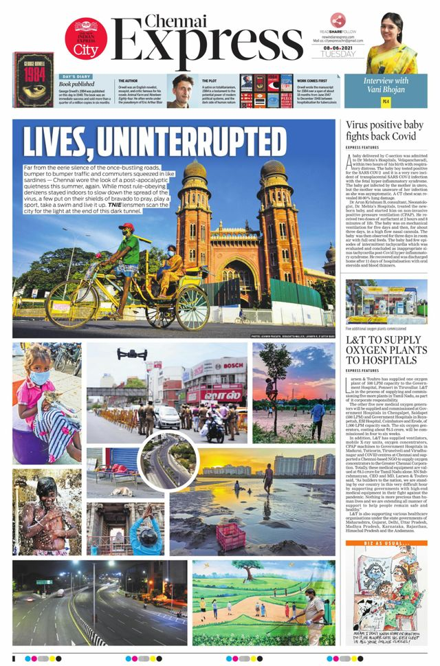 New Indian Express 8th June 2021