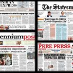 Newspaper front pages 9th june 2021