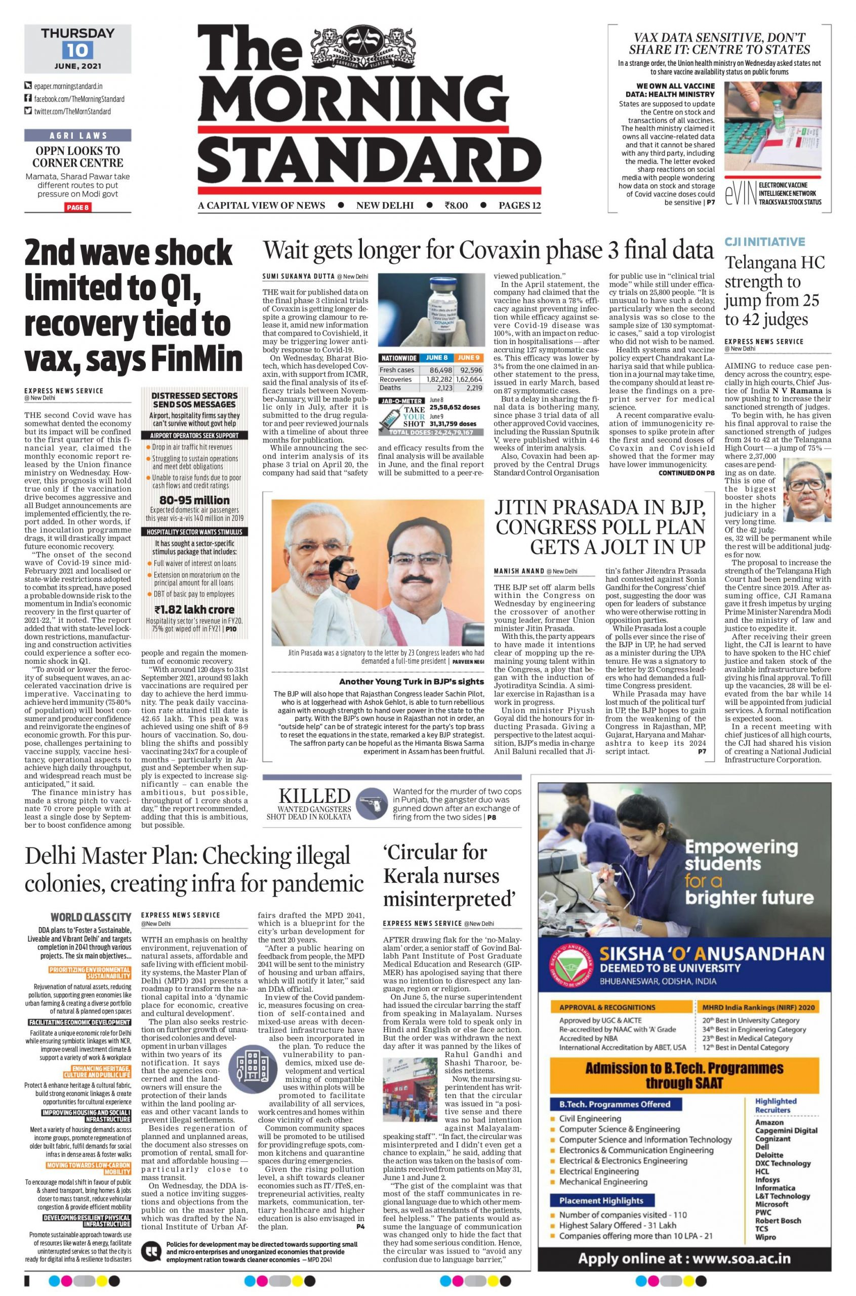 The Morning Standard 10th June 2021