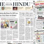 Newspaper front pages 14 July 2021