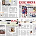 Newspaper front pages 28 July 2021