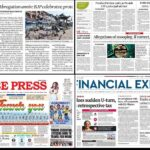 Newspaper front pages 6th August 2021